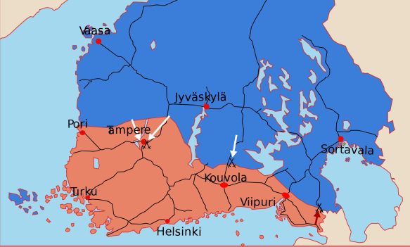 FinnishCivilWarMapMiddle.svg